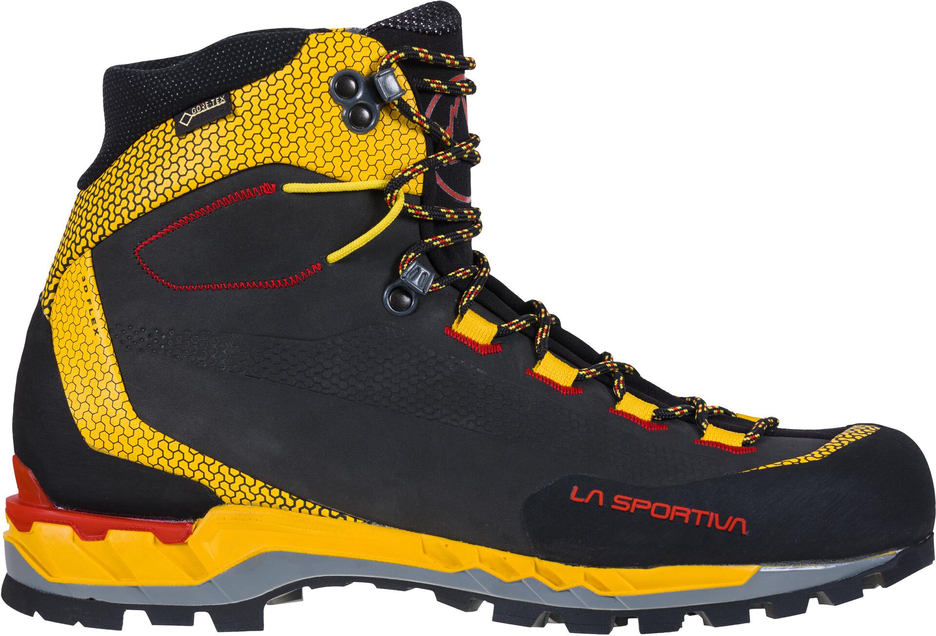 La Sportiva Trango Tech Leather GTX Schuhe Herren blackyellow